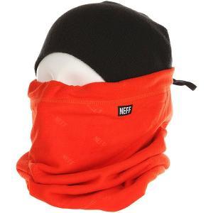 Шарф труба  Shield Gaiter Orange Neff. Цвет: оранжевый