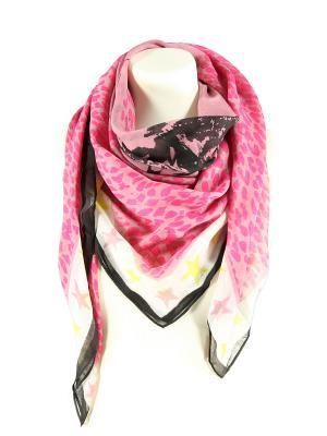 Платок шейный Passigatti. Цвет: розовый