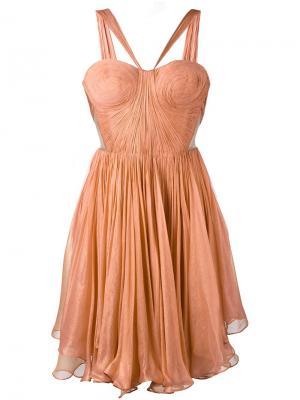 Платье Akilah Maria Lucia Hohan. Цвет: телесный