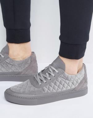 Cayler & Sons Серые стеганые кроссовки Chutoro. Цвет: серый
