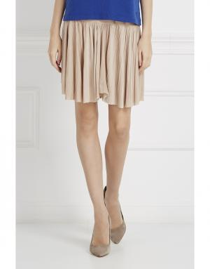 Однотонная юбка J. Mendel. Цвет: бежевый
