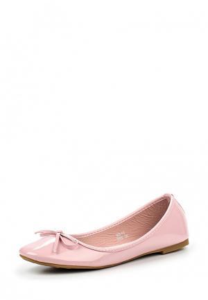 Балетки Max Shoes. Цвет: розовый