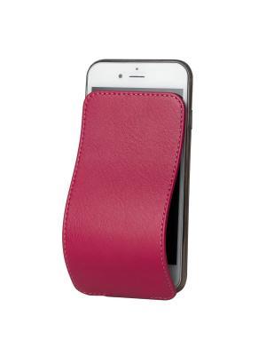 Чехол для iPhone 6 Plus / 6S Robert Теленок Marcel. Цвет: темно-бордовый, бордовый, малиновый