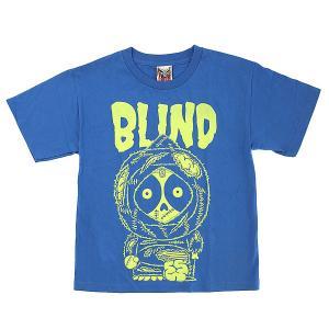 Футболка детская  Zombie 2 Royal Blind. Цвет: синий