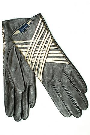 Перчатки Dali Exclusive. Цвет: перламутр, коричневый, золото