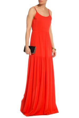 Вечернее платье в пол Mix Ray. Цвет: оранжевый