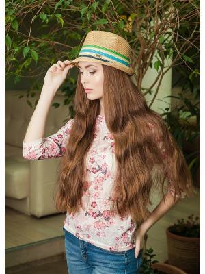 Шляпа AVANTA. Цвет: зеленый, бежевый, голубой