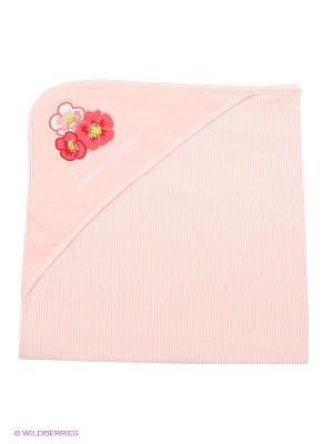 Одеяло PlayToday. Цвет: розовый, белый