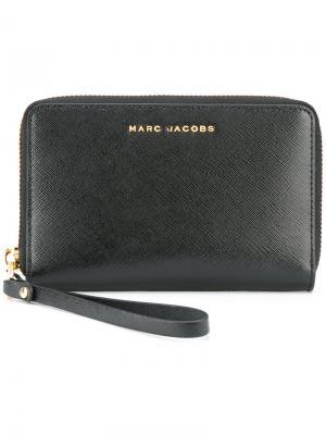 Двухцветный кошелек Marc Jacobs. Цвет: чёрный