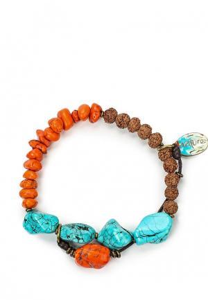 Браслет Nature bijoux. Цвет: разноцветный