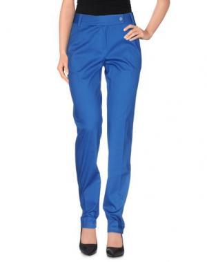 Повседневные брюки EMISPHERE. Цвет: синий
