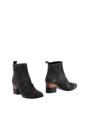 Полусапоги и высокие ботинки MEGUMI OCHI. Цвет: свинцово-серый