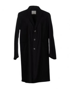 Пальто THE EDITOR. Цвет: черный