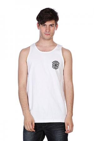 Майка  Bauhaus Cross Tank White Independent. Цвет: белый
