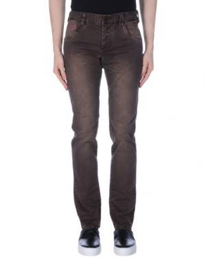 Повседневные брюки AT.P.CO. Цвет: темно-коричневый
