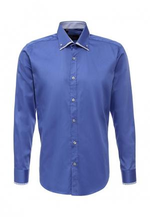 Рубашка Sahera Rahmani. Цвет: голубой