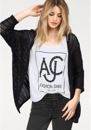 Кардиган AJC. Цвет: черный