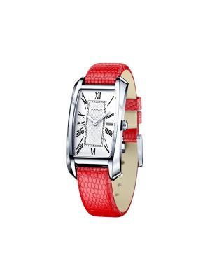 Часы ювелирные коллекция Favorite game SOKOLOV. Цвет: красный, белый