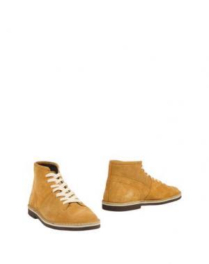 Полусапоги и высокие ботинки LEREWS. Цвет: ржаво-коричневый