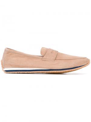 Loafer shoes Andrea Ventura. Цвет: телесный