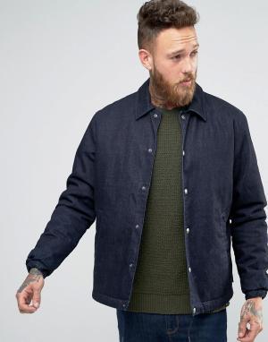 Edwin Джинсовая куртка. Цвет: темно-синий