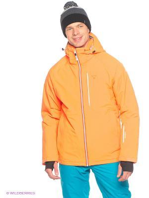 Куртка Tenson. Цвет: оранжевый