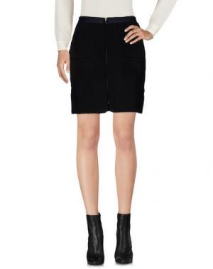 Мини-юбка DRESS GALLERY. Цвет: черный