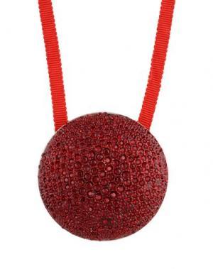 Ожерелье DRIES VAN NOTEN. Цвет: красный