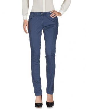 Повседневные брюки AERONAUTICA MILITARE. Цвет: пастельно-синий