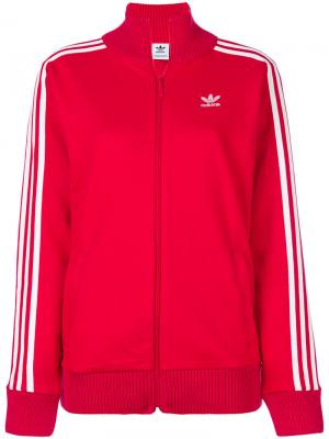 Спортивная куртка  Originals Adibreak Adidas. Цвет: красный