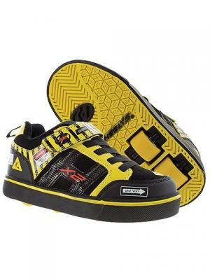 Роликовые кроссовки Heelys Bolt X2 770794 (12C). Цвет: черный, желтый