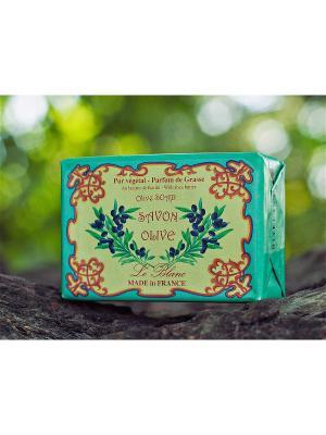 Косметическое мыло в картонной коробке Оливки 100 гр. Le Blanc.. Цвет: зеленый