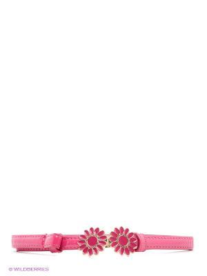 Пояс Vittorio Richi. Цвет: розовый, золотистый
