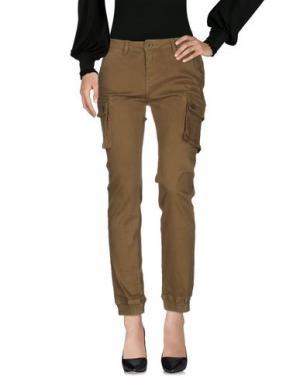 Повседневные брюки ATELIER FIXDESIGN. Цвет: зеленый-милитари