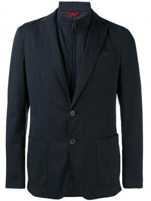 Повседневный пиджак Fay. Цвет: синий