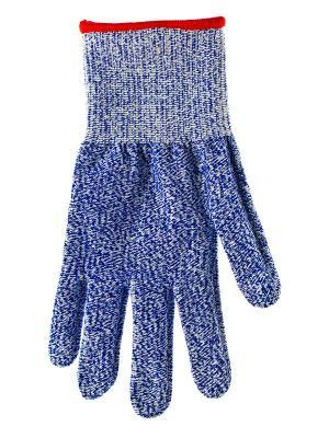 Перчатка защитная для работы с тёрками и ножами VIRTUS. Цвет: серый