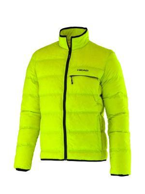 Куртка HEAD. Цвет: желтый