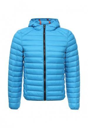 Куртка утепленная Sergio Tacchini. Цвет: голубой