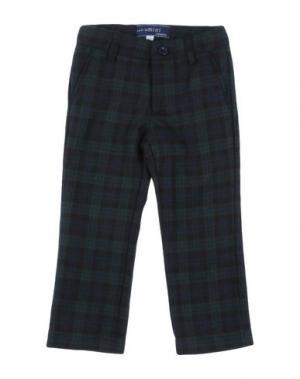 Повседневные брюки SIMONETTA MINI. Цвет: зеленый