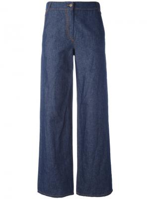 Широкие брюки IM Isola Marras I'M. Цвет: синий