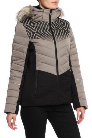 Куртка Icepeak. Цвет: серый- черный