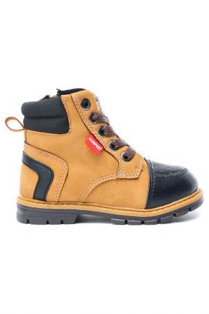 Ботинки INDIGO KIDS. Цвет: рыжий
