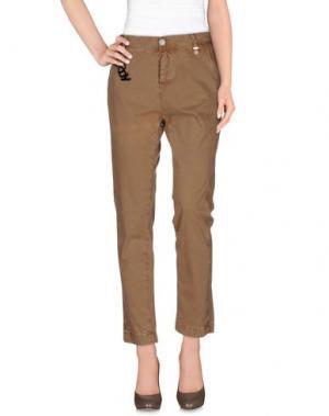Повседневные брюки ROŸ ROGER'S CHOICE. Цвет: хаки
