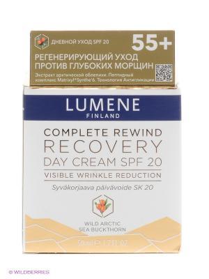 Регенерирующий дневной крем Lumene Complete Rewind SPF 20, 50 мл. Цвет: белый