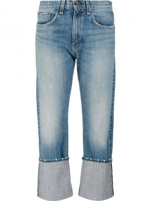 Джинсы Marilyn Cropped Rag & Bone /Jean. Цвет: синий