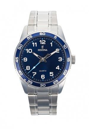 Часы Festina. Цвет: серебряный
