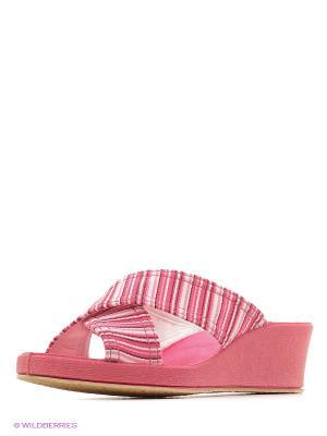 Испанские тапочки Mon Ami. Цвет: фуксия