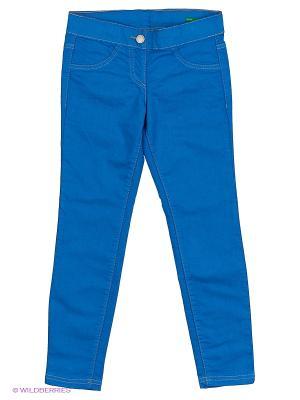 Брюки United Colors of Benetton. Цвет: синий