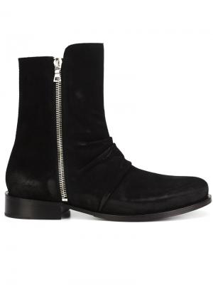 Ботинки Stack Amiri. Цвет: чёрный