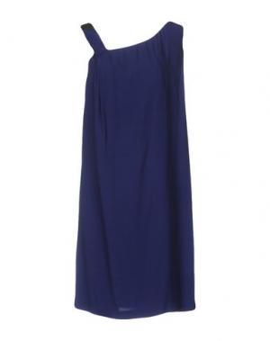 Короткое платье ATTIC AND BARN. Цвет: синий